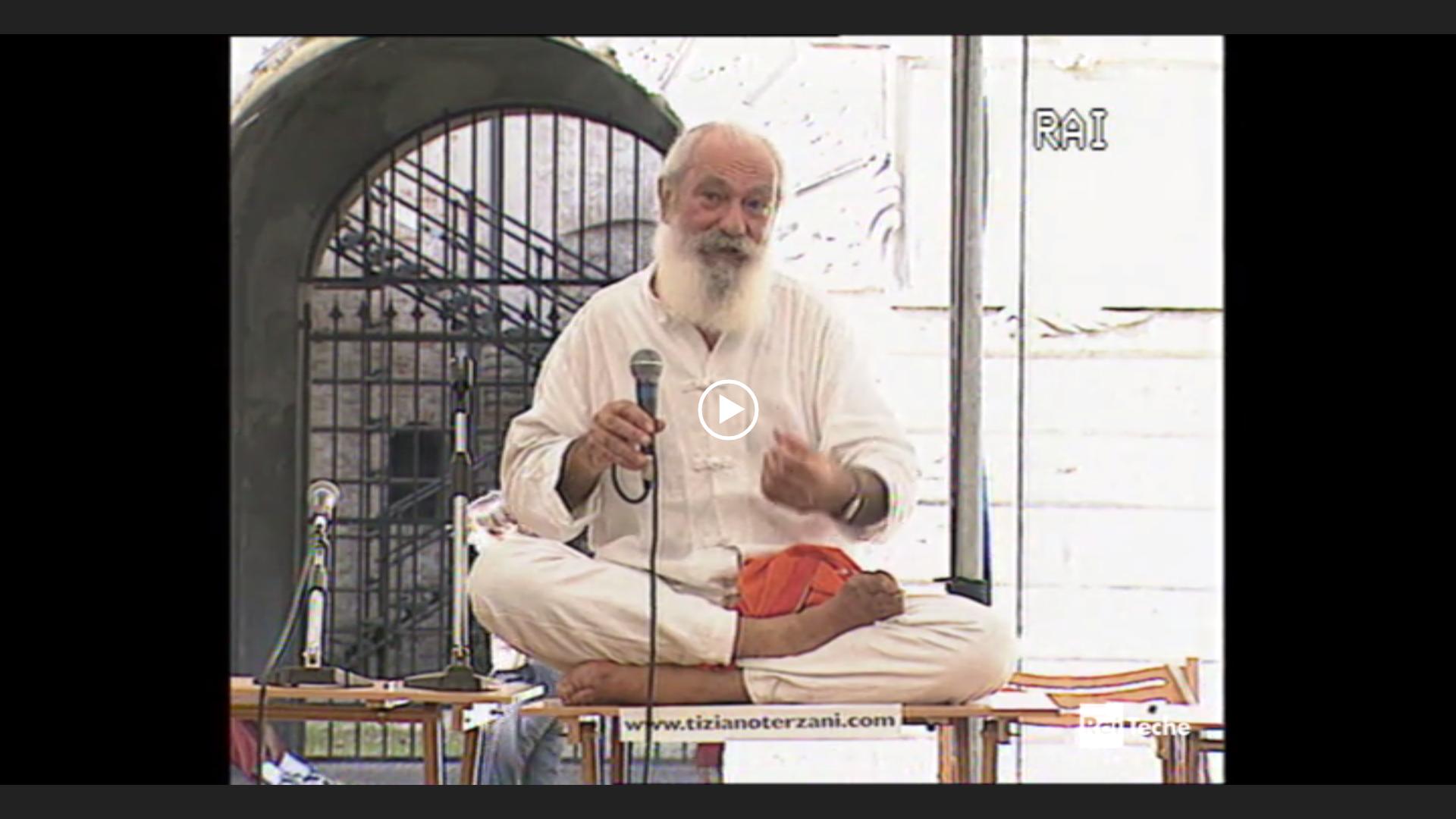 Tiziano Terzani al Festivaletteratura 2002: semplicemente profetico