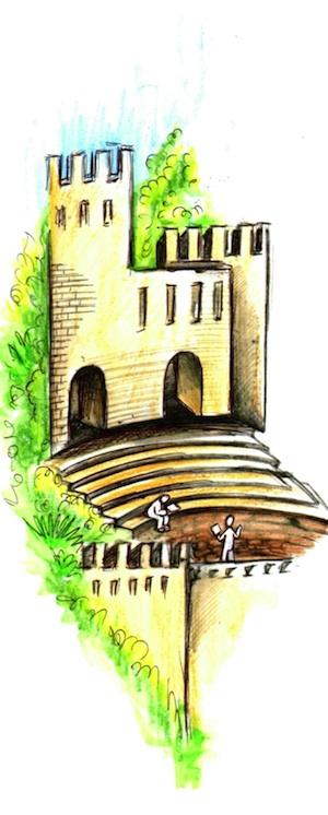 Il castello delle voci: interviste Rai a dodici autori, quattro Premi Nobel