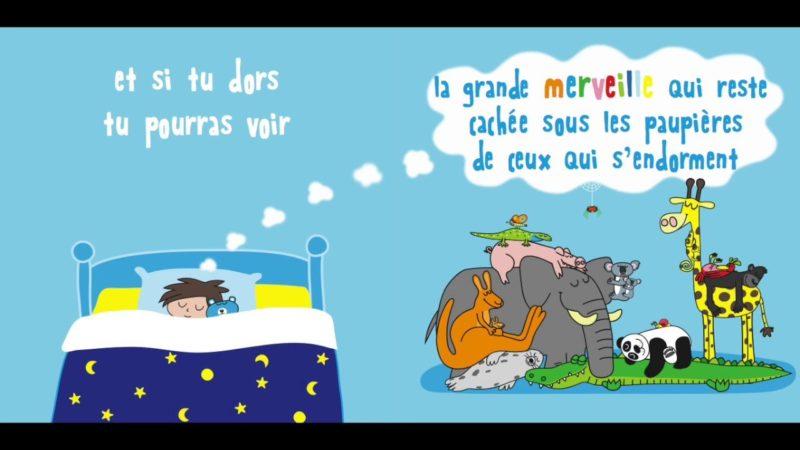 La ninna nanna dei sogni in francese (La berceuse des rêves)