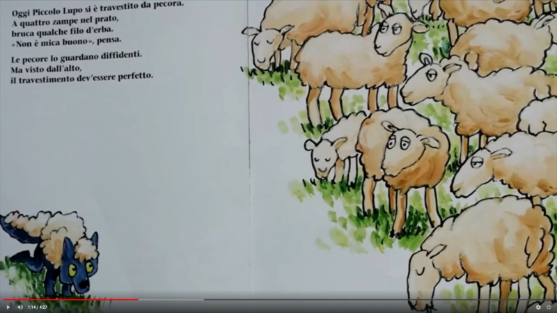 Il lupo che voleva essere una pecora di Mario Ramos