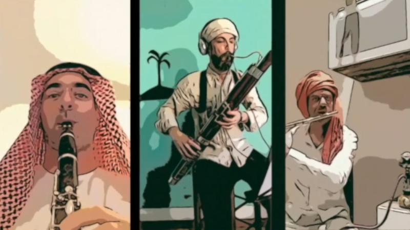 La Danza Araba dallo Schiaccianoci di Tchaikovsky