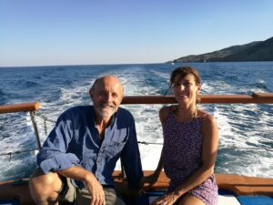 Giuseppe Cederna e Alessandra Ferrari